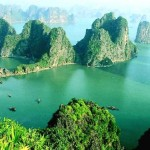 The Ha-long Bay in Vietnam