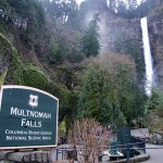 Multnomah Falls in Oregon.