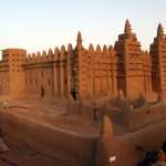 The Great Mosque of Djenne in Mali.