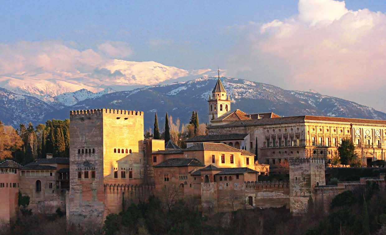 The Alhambra of Granada in Spain. - trip and travel : trip ...
