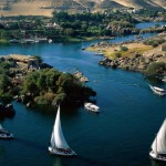 The Nile in Africa.