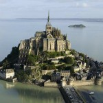 Mont Saint Michel in France.