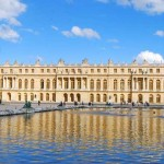 The Palace of Versailles in Paris.