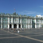 The Ermitage Winter Palace in Russia.