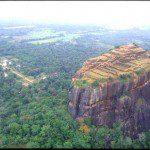 Sigiriya in Sri Lanka.