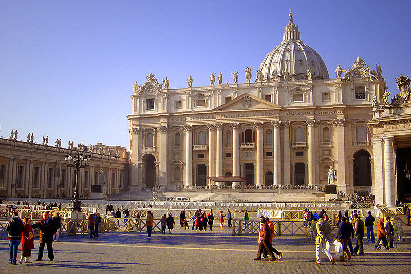 St peter 39 s basilica at the vatican trip and travel for Interieur paris premiere