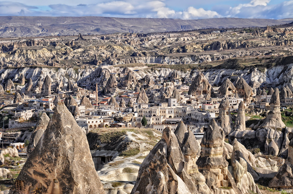 Cappadocia in Turkey. - trip and travel : trip and travel