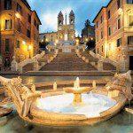 Spain Square in Rome