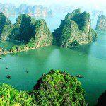 The Ha-long Bay in Vietnam