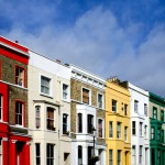 Notting Hill, one of the most typical neighborhoods of London