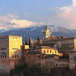 The Alhambra of Granada in Spain.