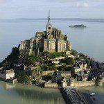 Mont Saint Michel in France.