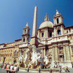 Navona Square in Roma