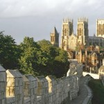 The famous York City Walls